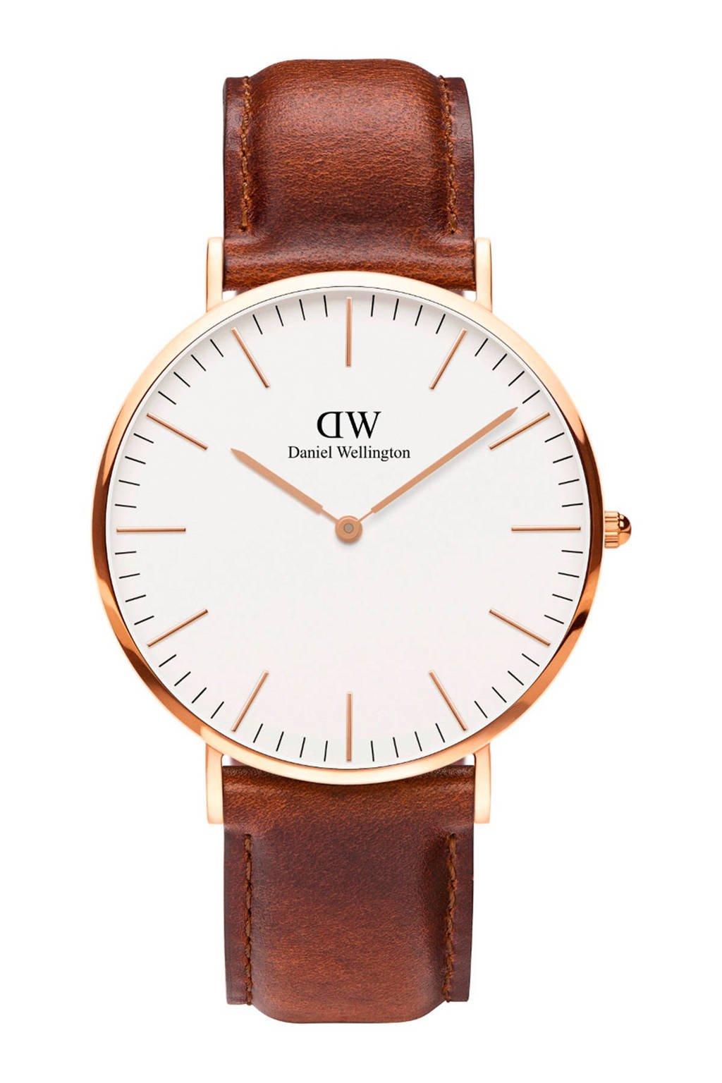 Daniel Wellington horloge DW00100006, Bruin