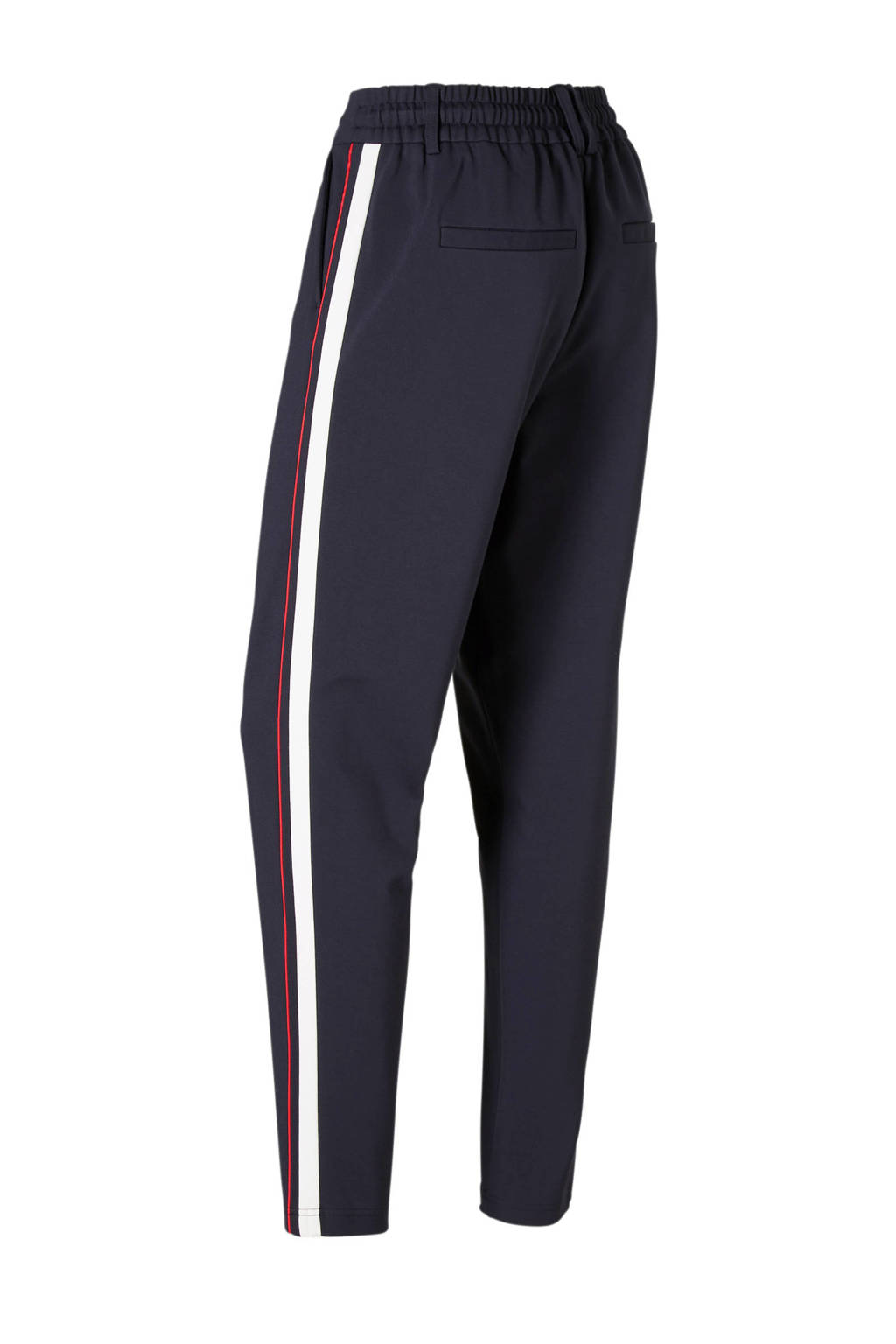 a877caf11eb9f0 ONLY broek met zij strepen, Donkerblauw/rood/wit