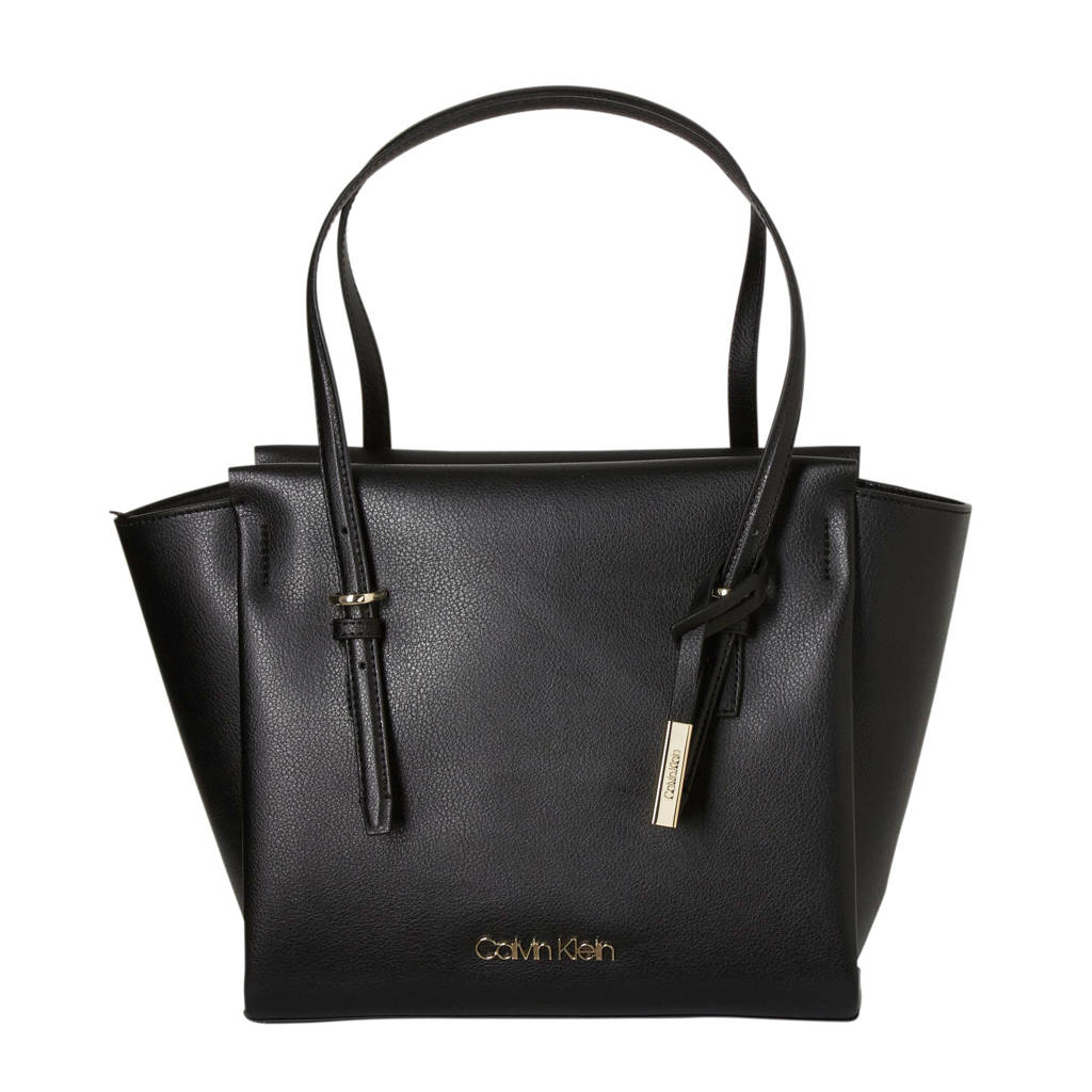 Calvin Klein   shopper AVANT MED SHOPPER zwart, Zwart