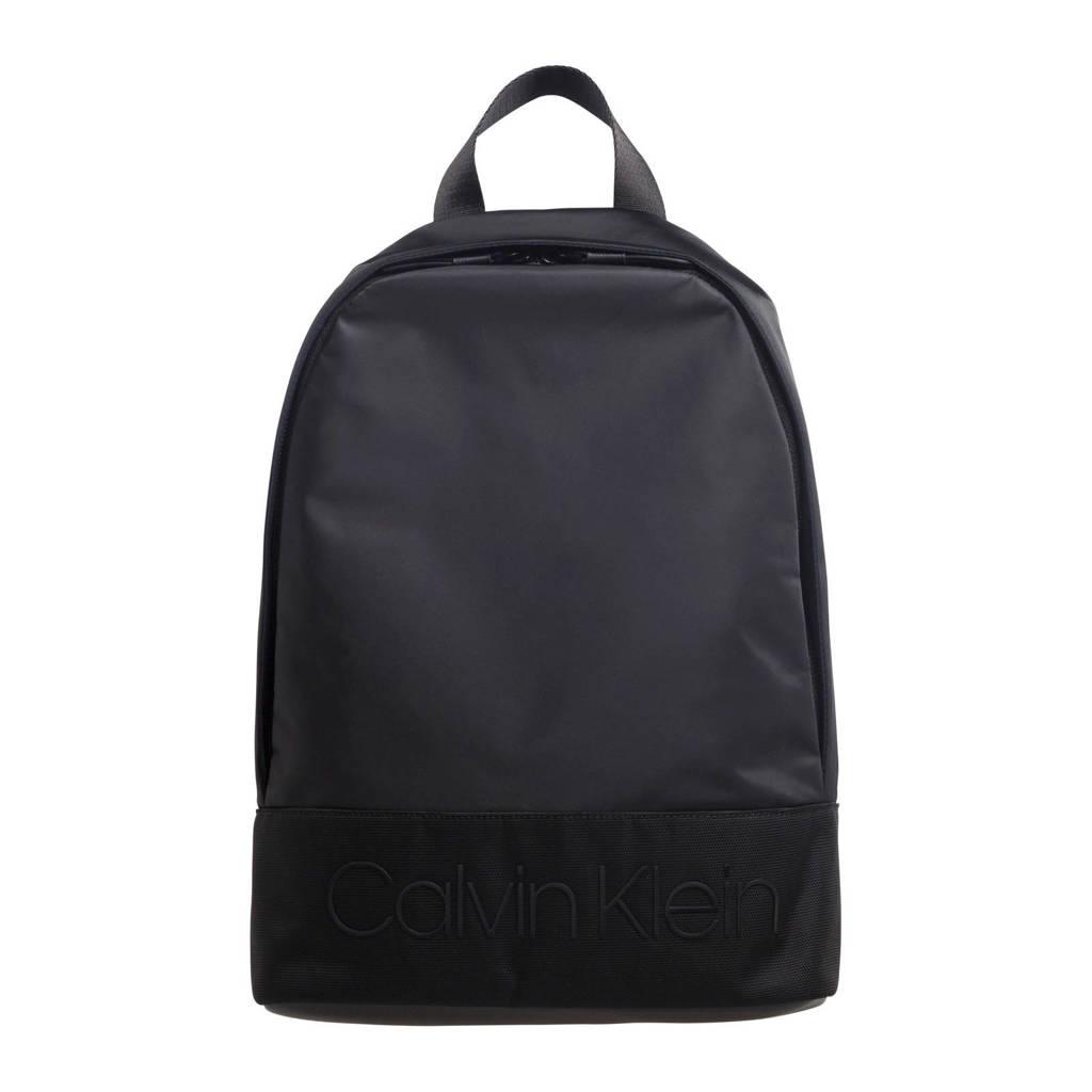 Calvin Klein   rugzak Shadow Round zwart, Zwart