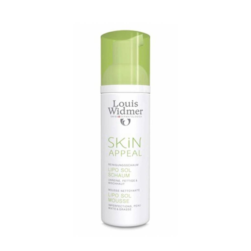 Louis Widmer Skin Appeal Lipo Sol Mousse gezichtsreiniger - 150 ml