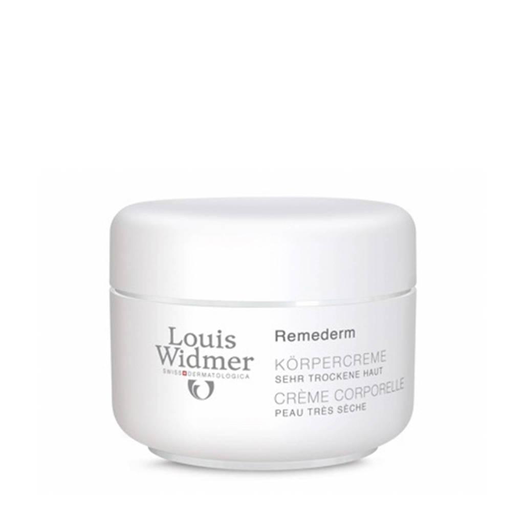 Louis Widmer Remederm lichaamscrème - 250 ml