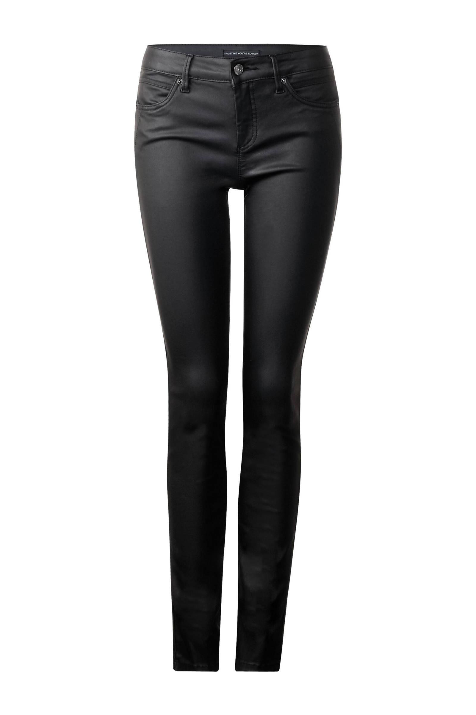 coated zwarte broek