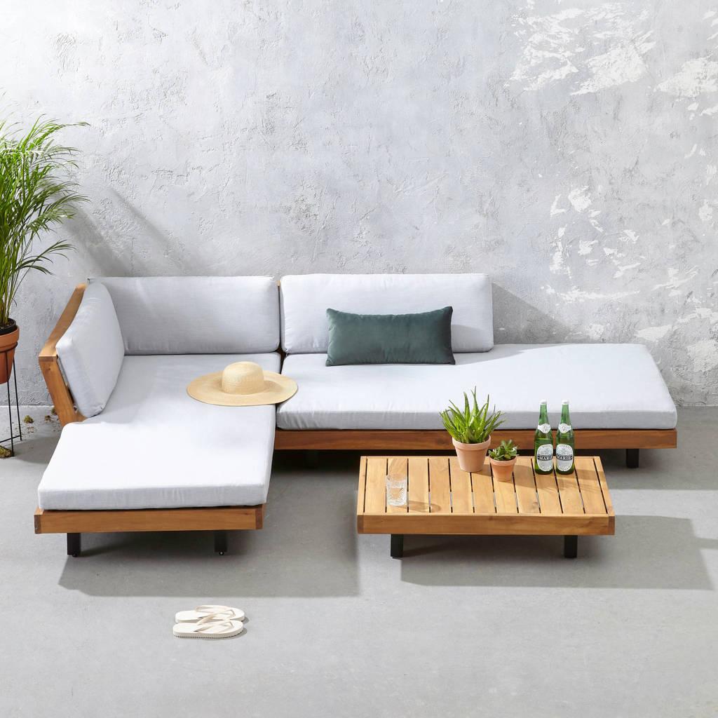 whkmp's own loungeset Luciana, Naturel/lichtgrjs