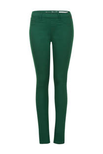 Miss Etam Regulier slim fit tregging groen (dames)