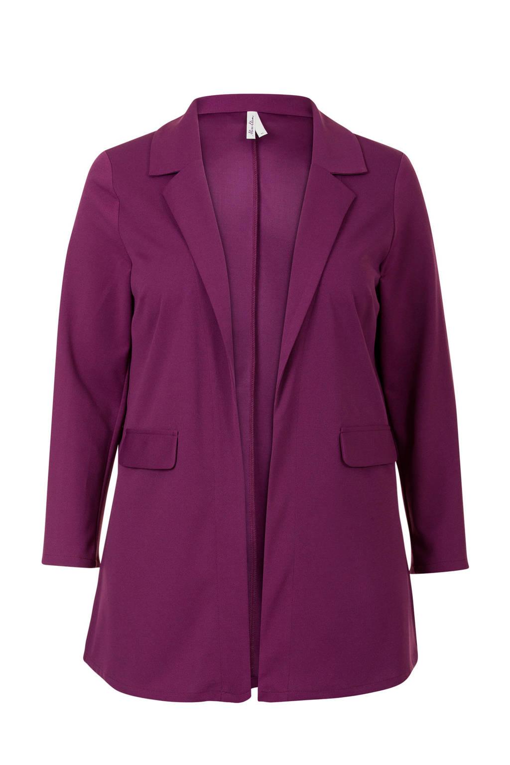 Miss Etam Plus blazer paars, Paars