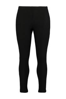 MS Mode geribde legging zwart (dames)