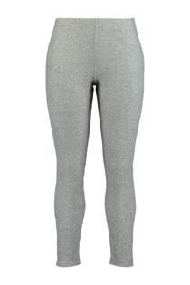 MS Mode geribde legging grijs (dames)