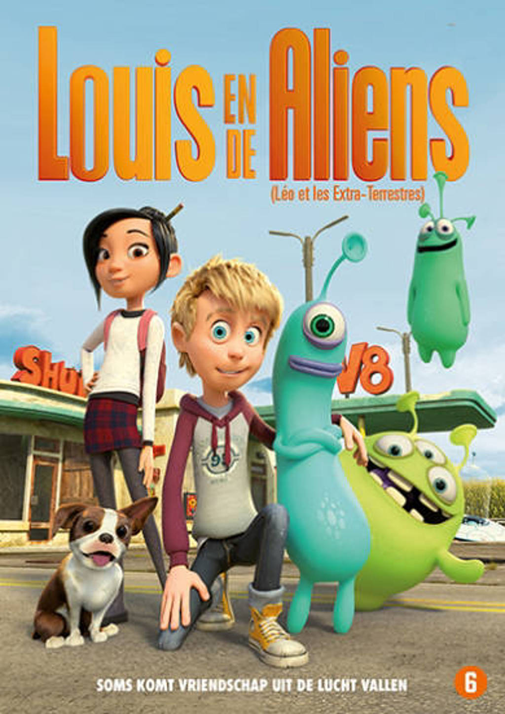 Louis & de aliens (DVD)