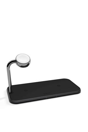 Qi dual wireless charger + watch lader