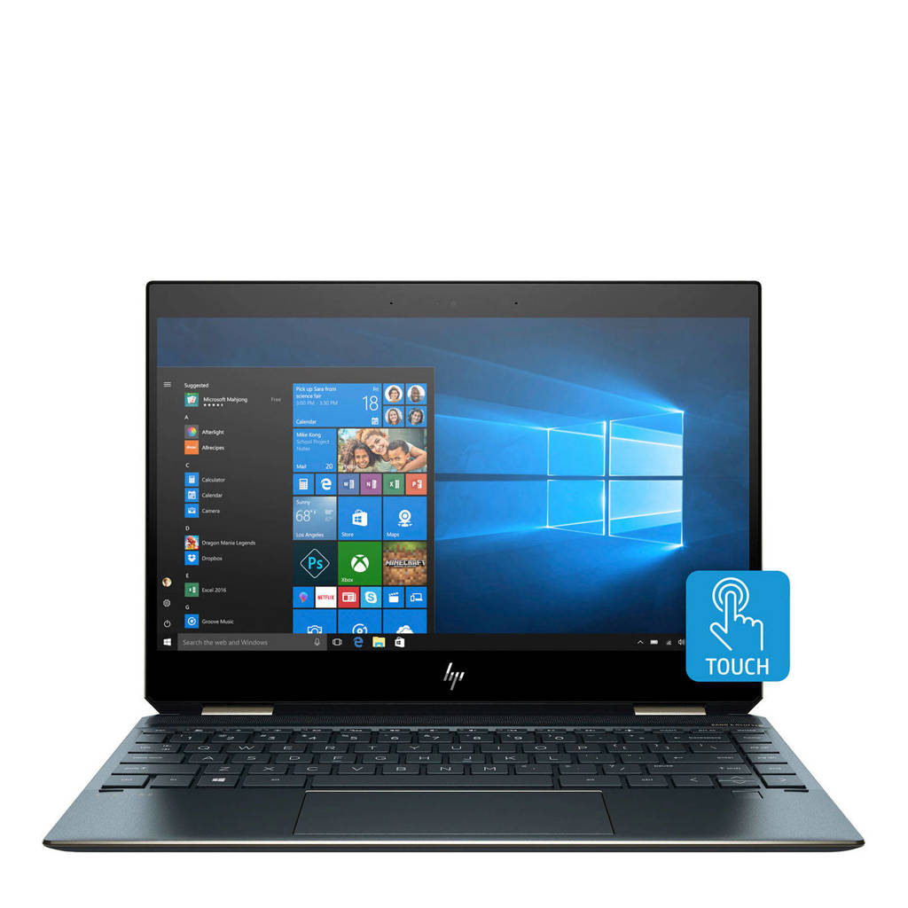 HP  2-in-1 laptop 13-AP0100ND, Blauw, Zilver