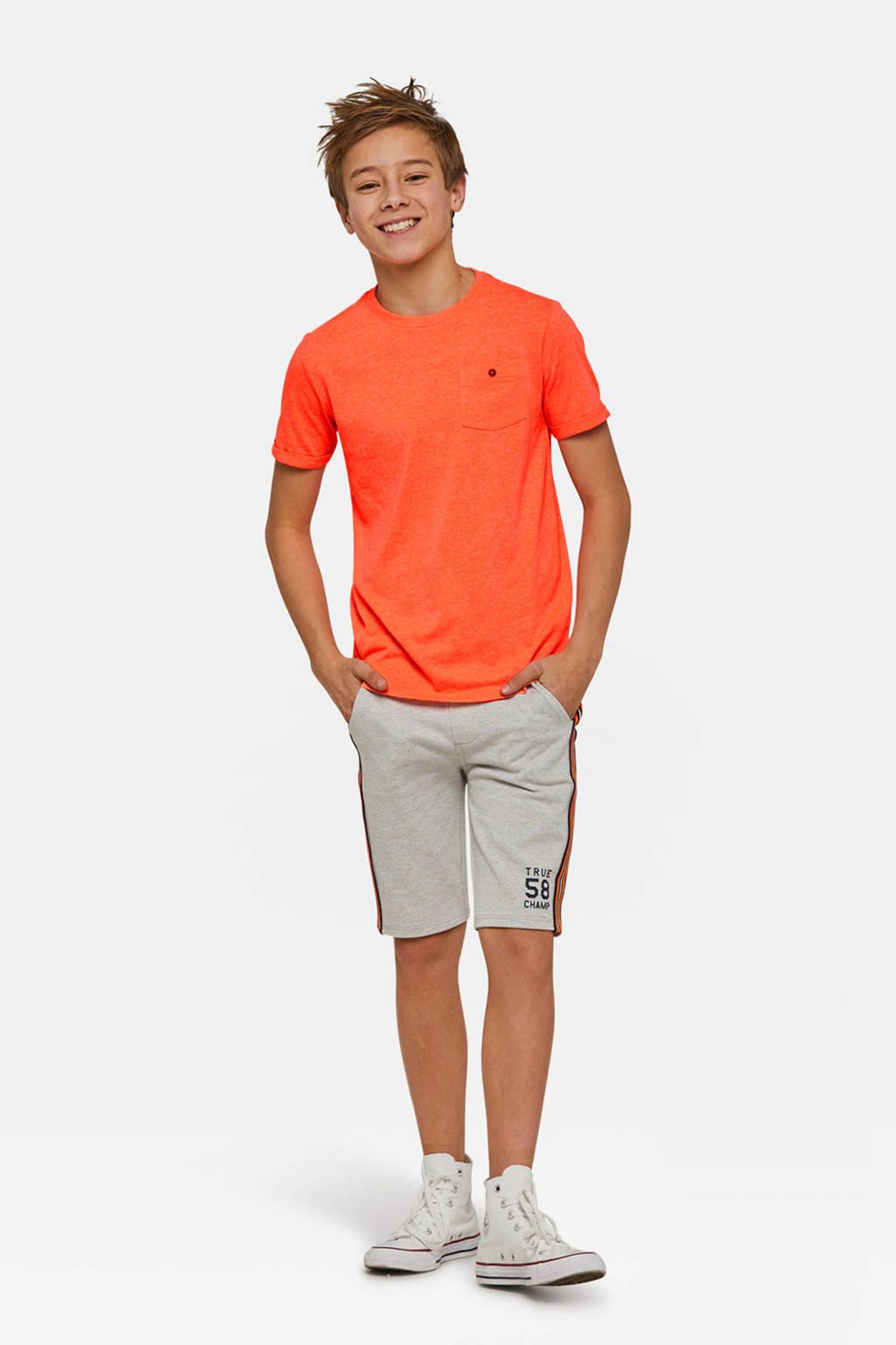 WE Fashion Fundamental T-shirt oranje, Oranje