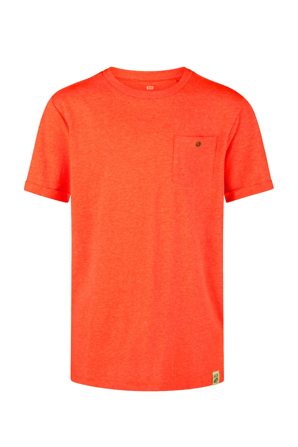 WE Fashion T-shirt oranje, Oranje