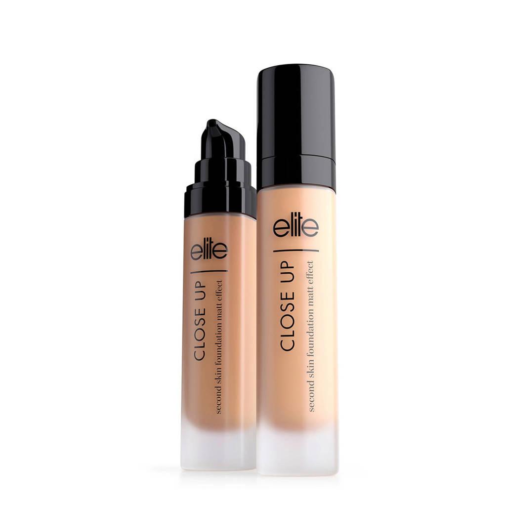 Elite Second Skin Matt Effect foundation - natural, Natural