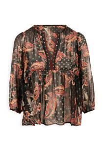 Morgan blouse met all over print (dames)