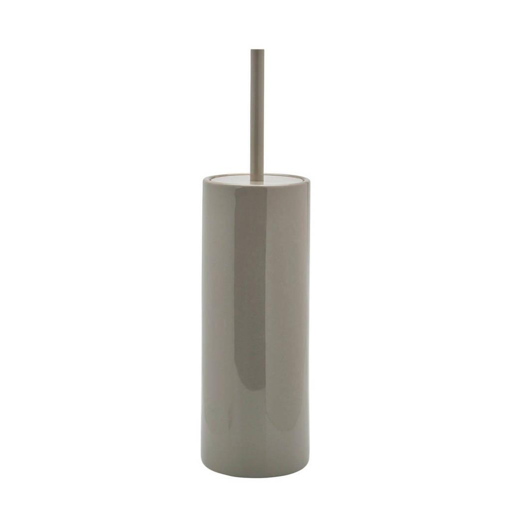 Aquanova Forte toiletborstelhouder, Grijsgroen