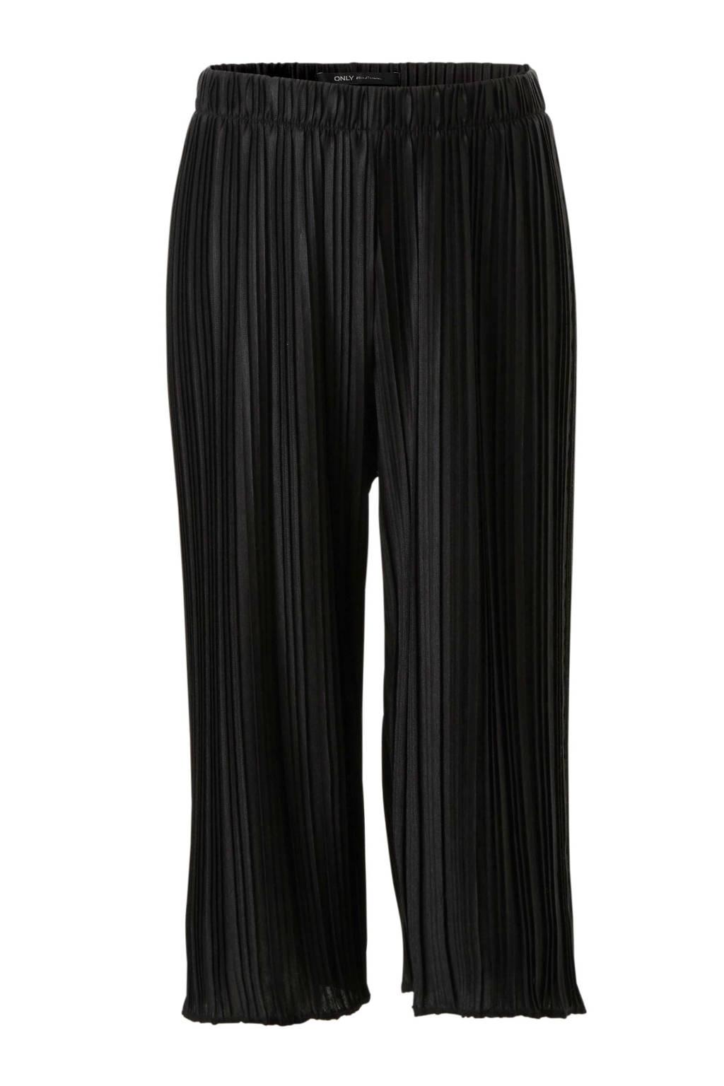KIDSONLY plissé culotte Emma zwart, Zwart