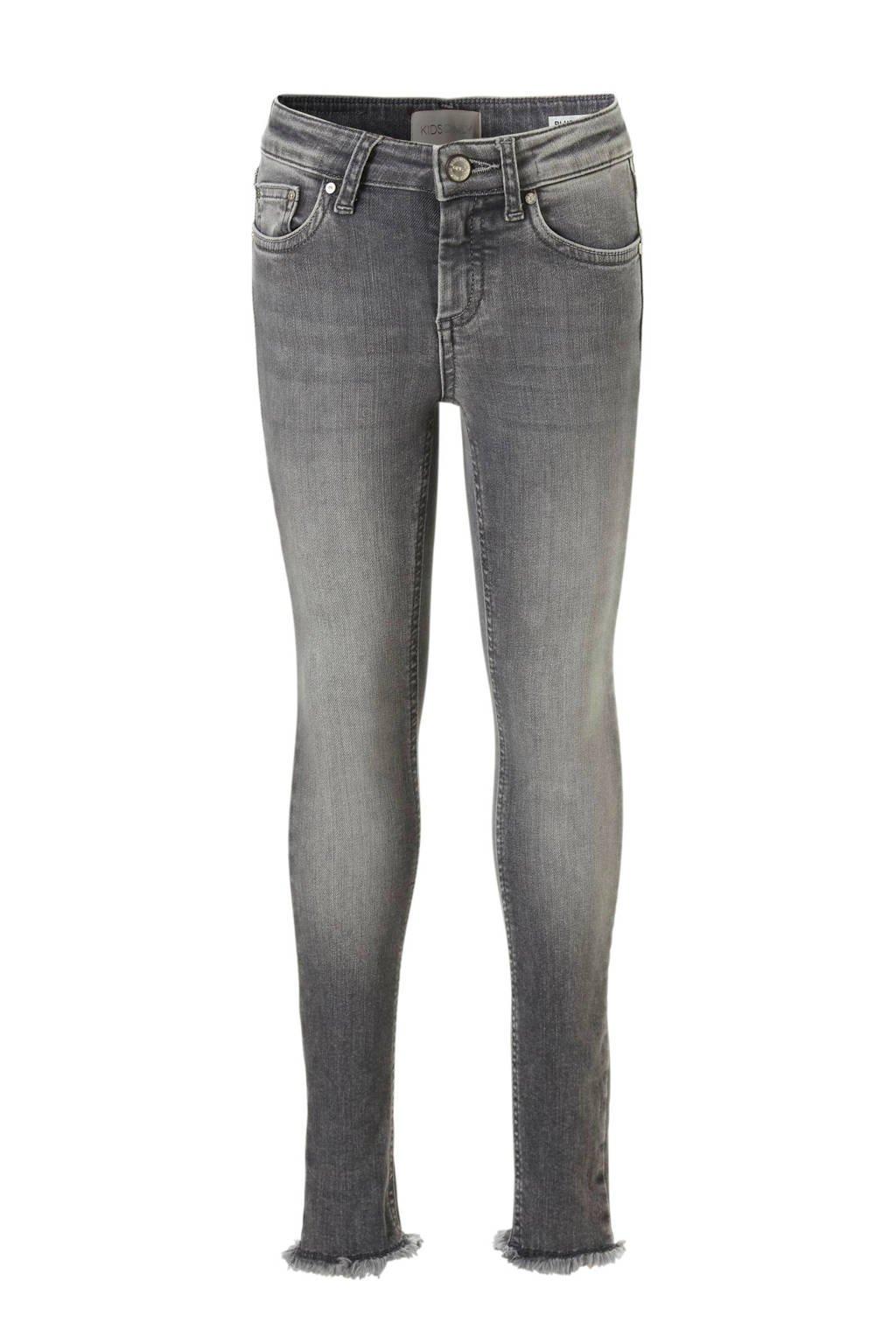 KIDS ONLY skinny jeans grijs, Grijs