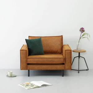 eco-leren loveseat Lexington
