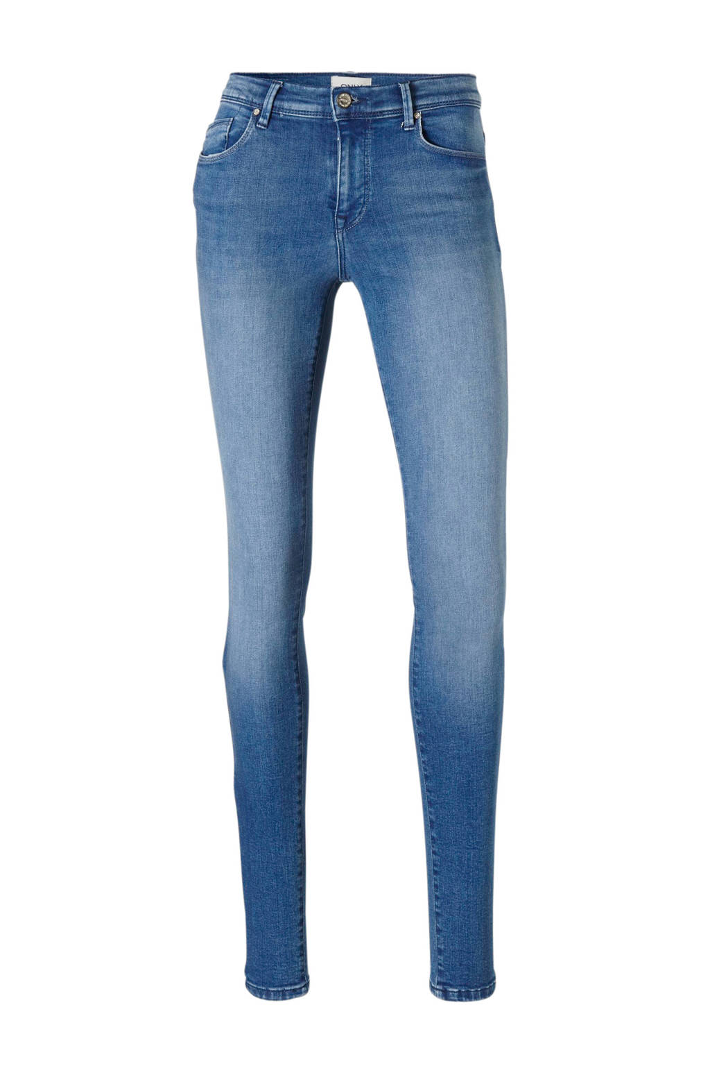 ONLY skinny fit jeans, Blauw