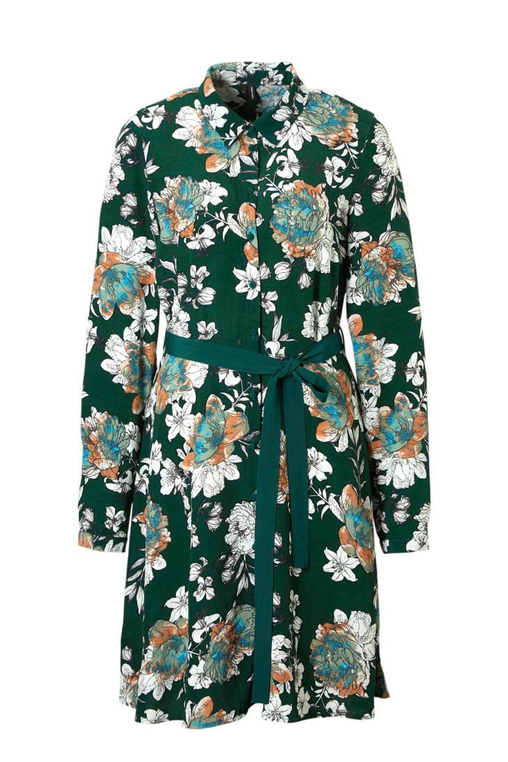 MODA VERO gebloemde bindkoord met jurk 6qApx