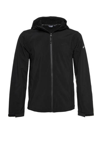 Mountain Peak   softshell jack zwart