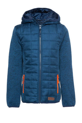 Mountain Peak jongens outdoor jas blauw