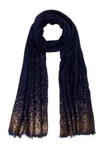 Miss Etam sjaal blauw