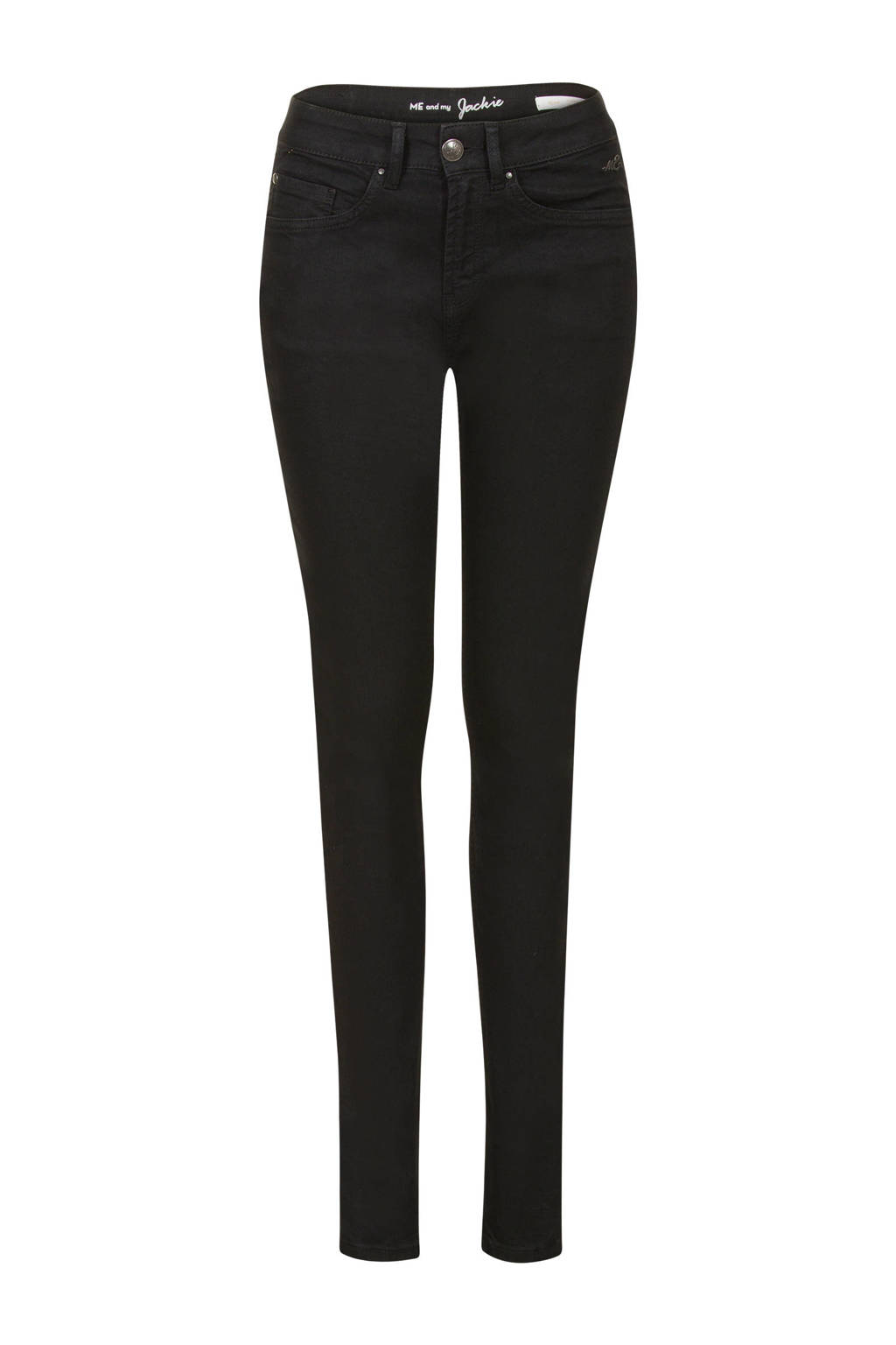 Miss Etam Regulier slim fit jeans Jackie zwart, Zwart