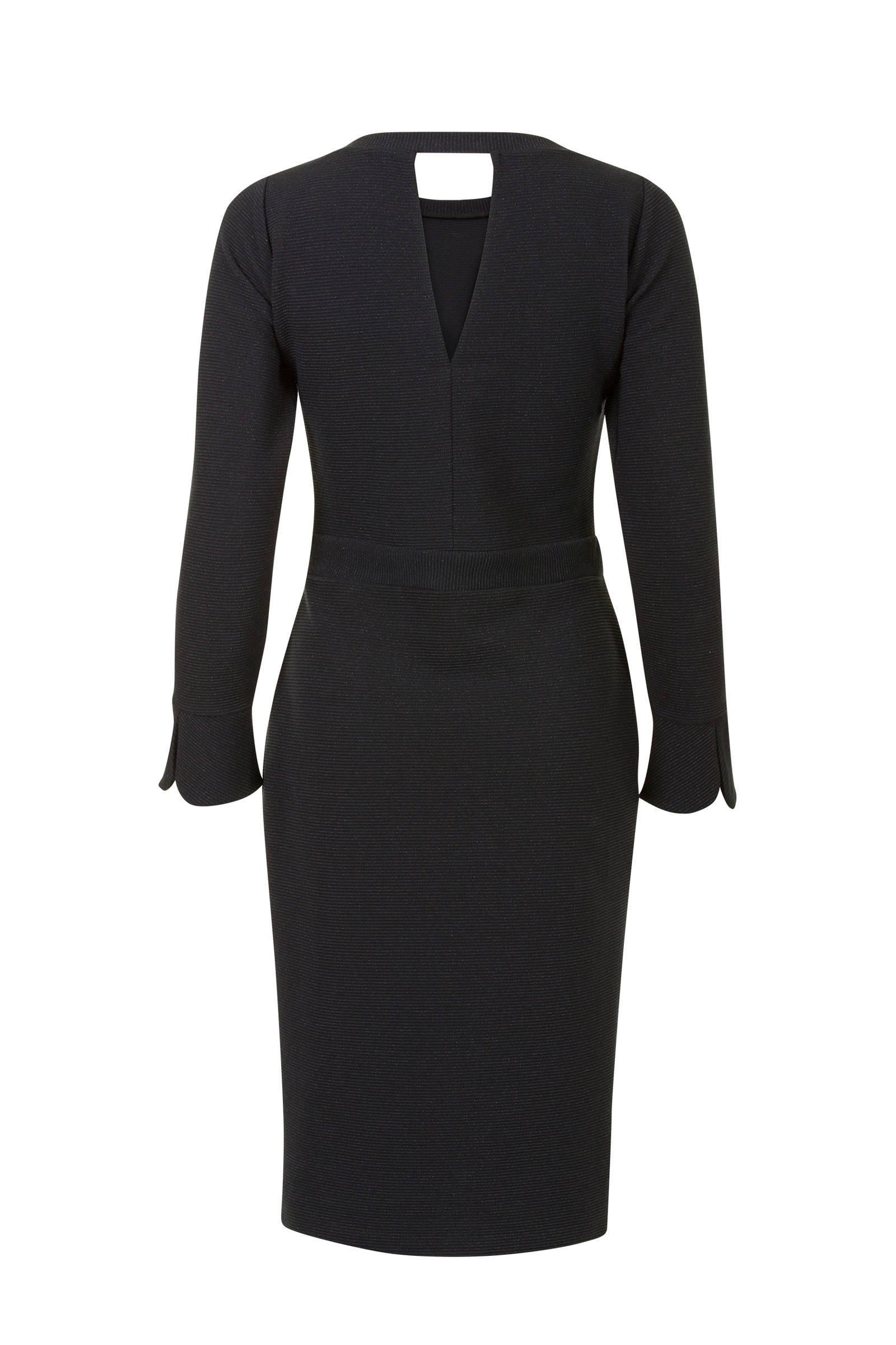 016e4c5a8e57c8 Steps jurk met glitters zwart