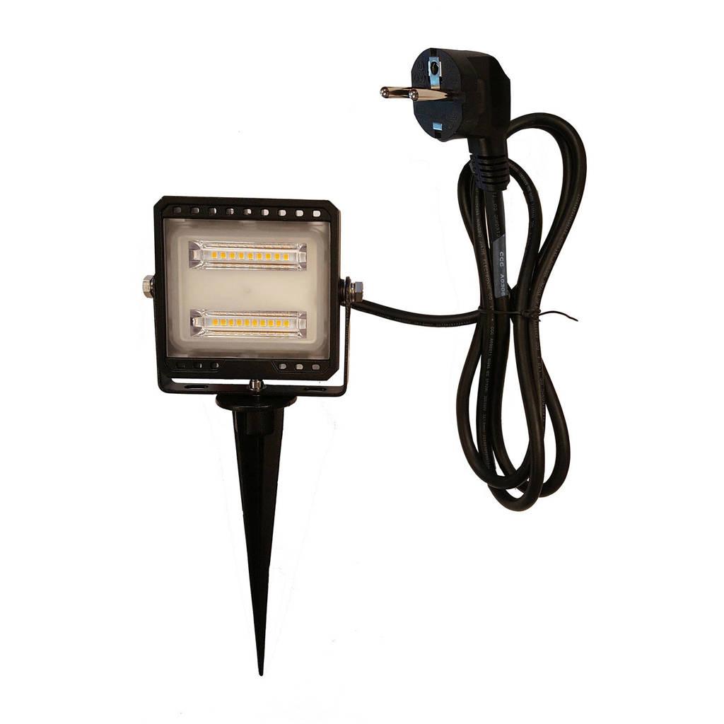 Luxform 230V LED breedstraler Dundee, Zwart
