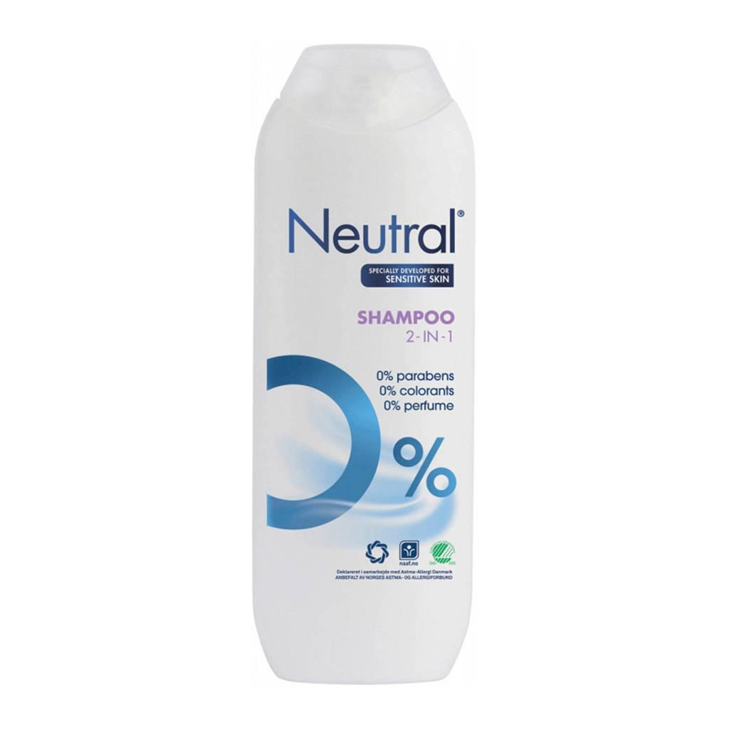 Neutral 2-in-1 shampoo - 250 ml - parfumvrij