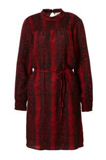 JACQUELINE DE YONG jurk met slangen print