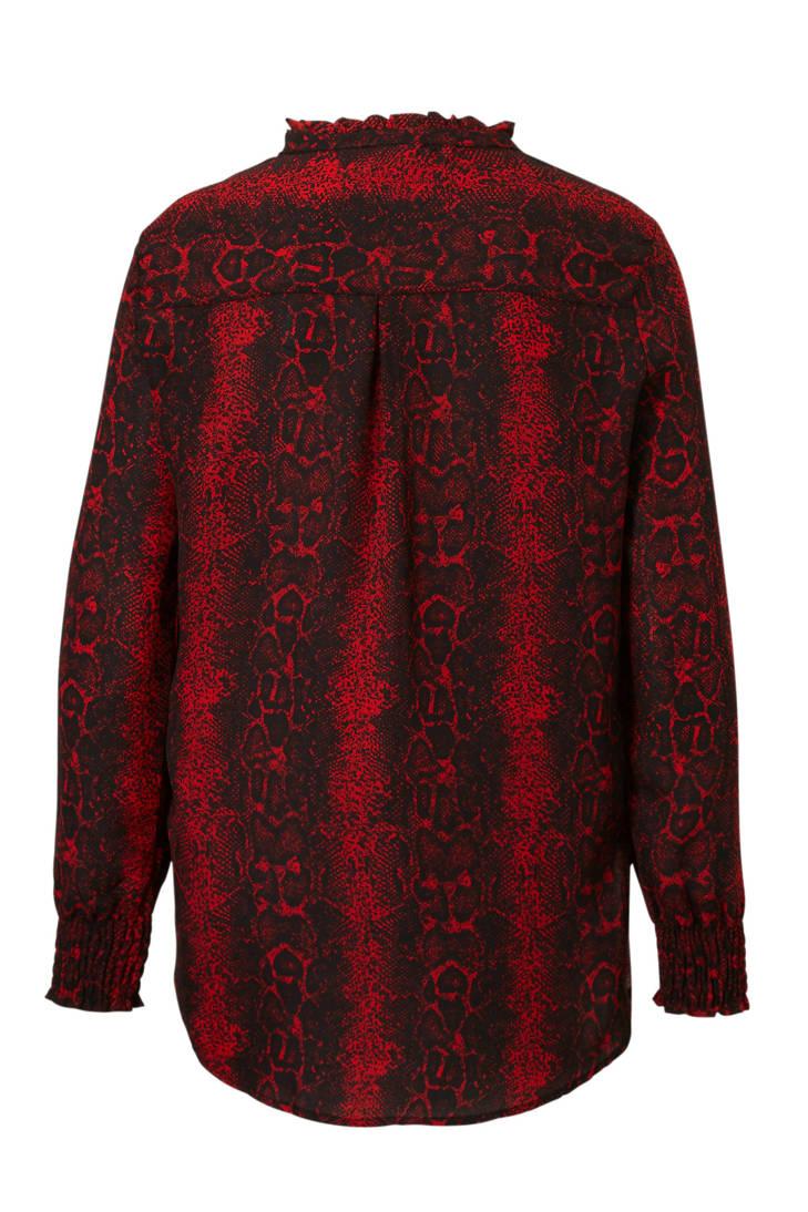 blouse JACQUELINE DE slangenprint YONG met q61RE10