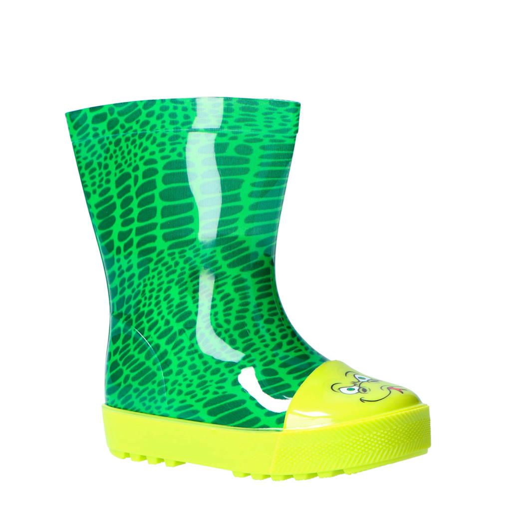 Apollo   slang regenlaarzen groen, Groen