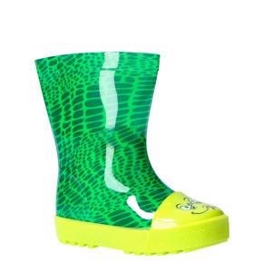 slang regenlaarzen groen