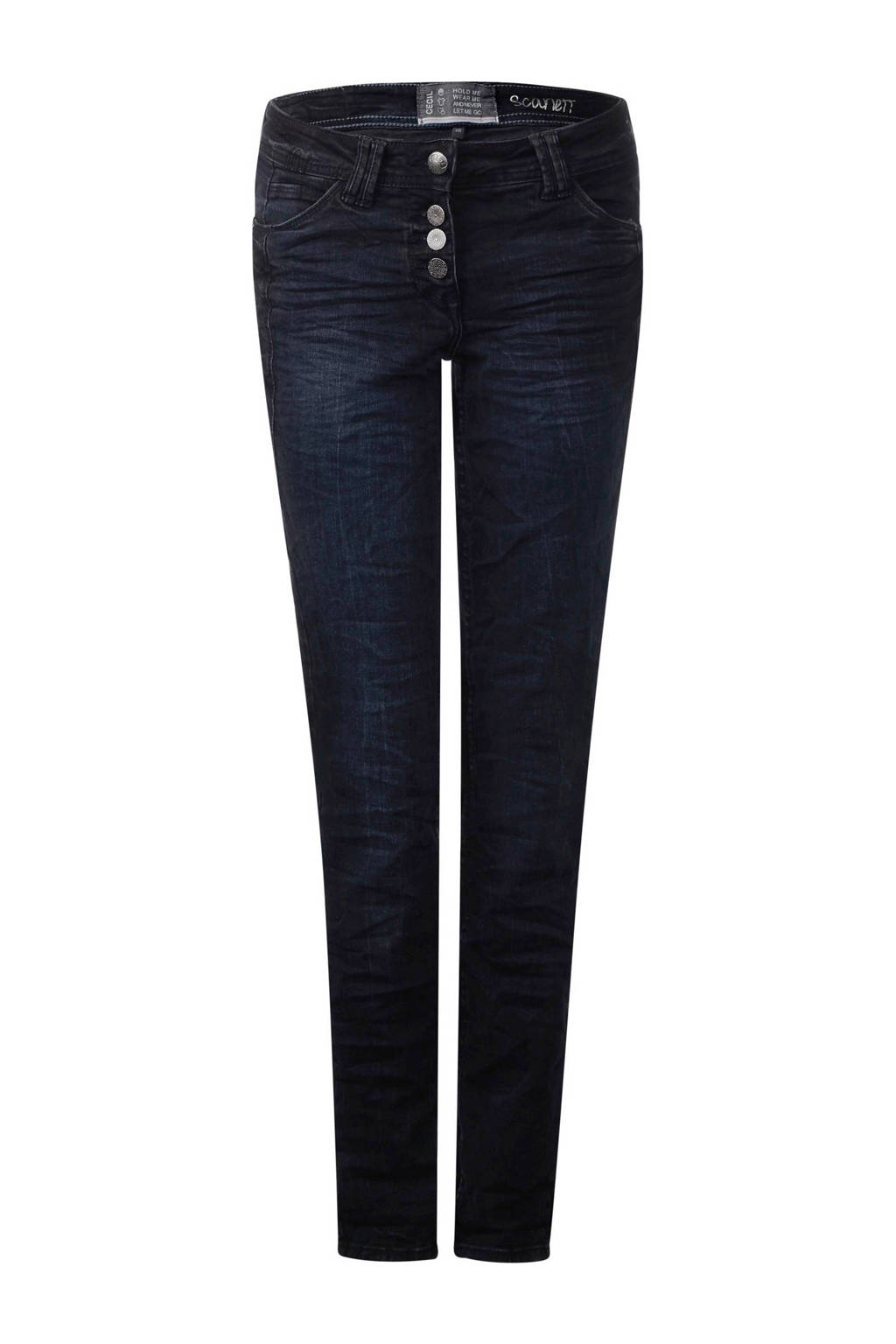 CECIL loose fit jeans, Blauw