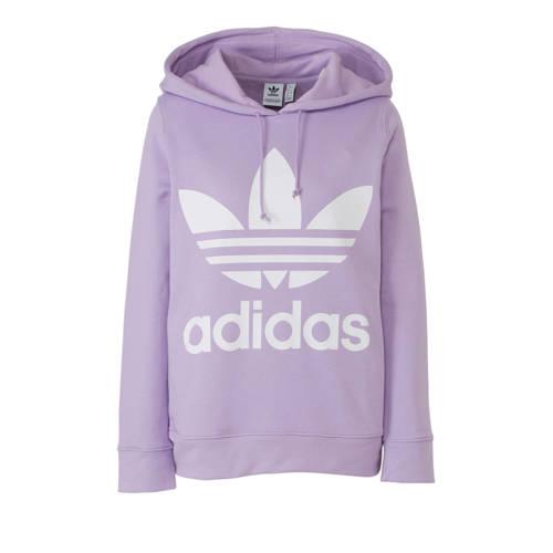 adidas originals hoodie paars