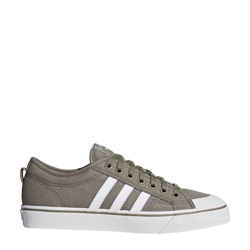 adidas originals  Nizza sneakers lichtgrijs, Lichtgrijs/wit