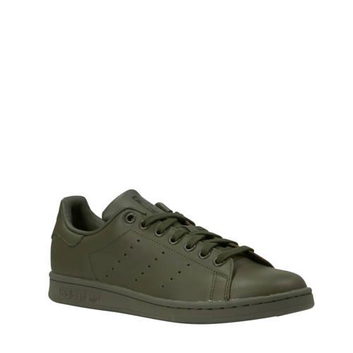 adidas originals Stan Smith leren sneakers donkergroen
