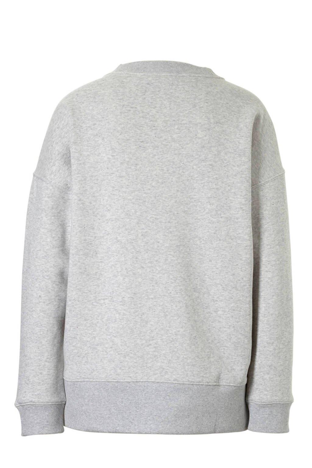 adidas originals sweater grijs, Grijs/wit
