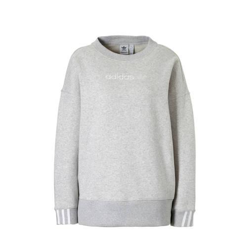 adidas originals sweater grijs