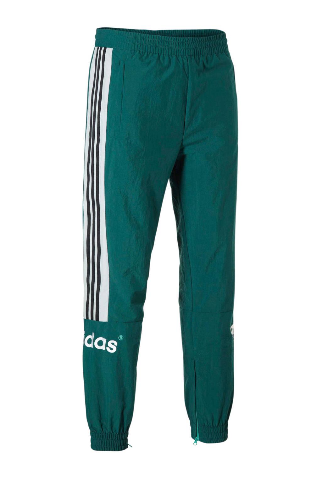 adidas originals trainingsbroek groen, Groen/wit/zwart