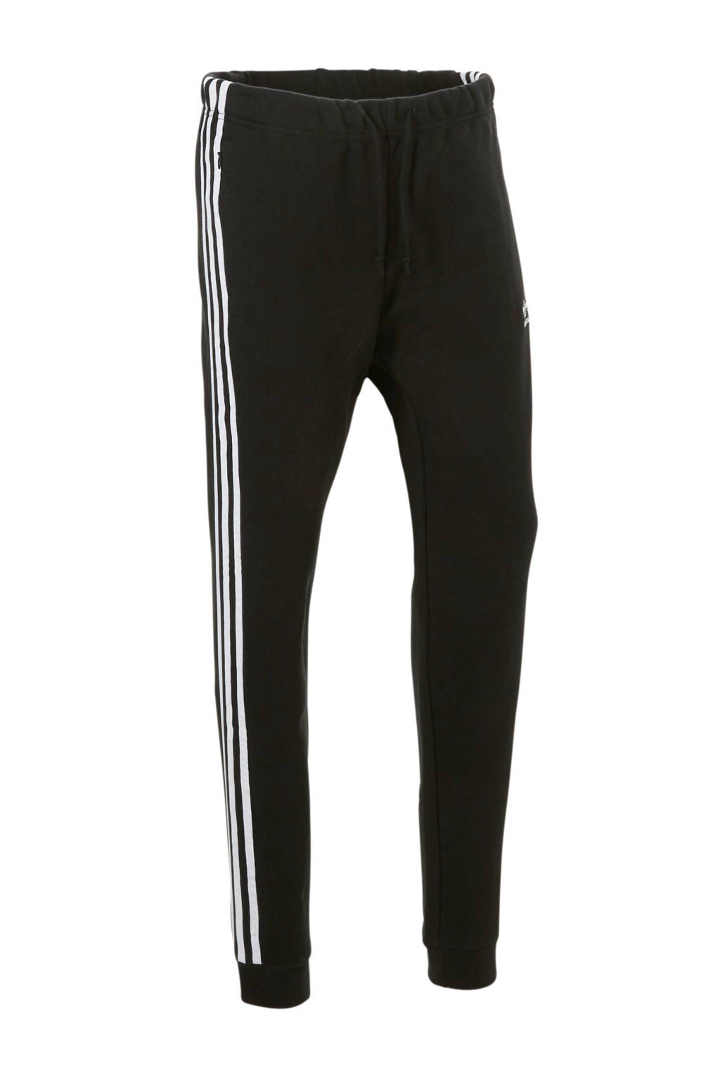 adidas originals joggingbroek zwart, Zwart/wit