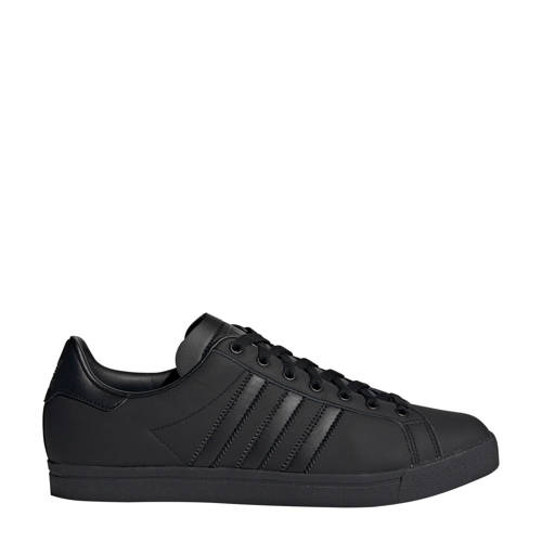 adidas originals Coast Star J leren sneakers zwart