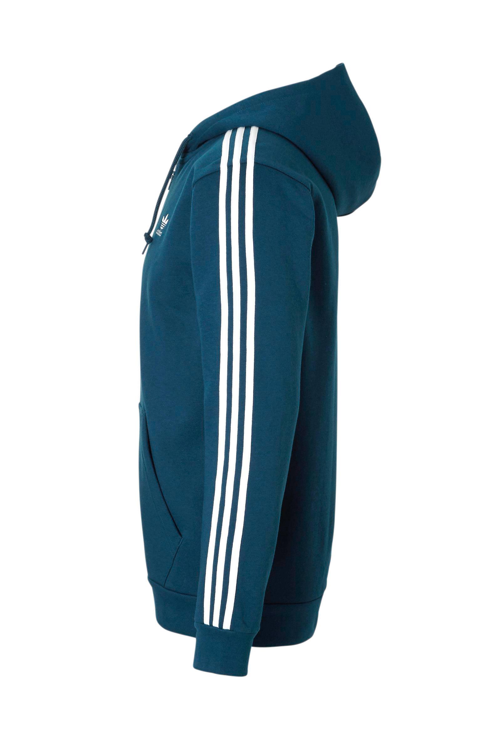adidas Originals vest petrol   wehkamp