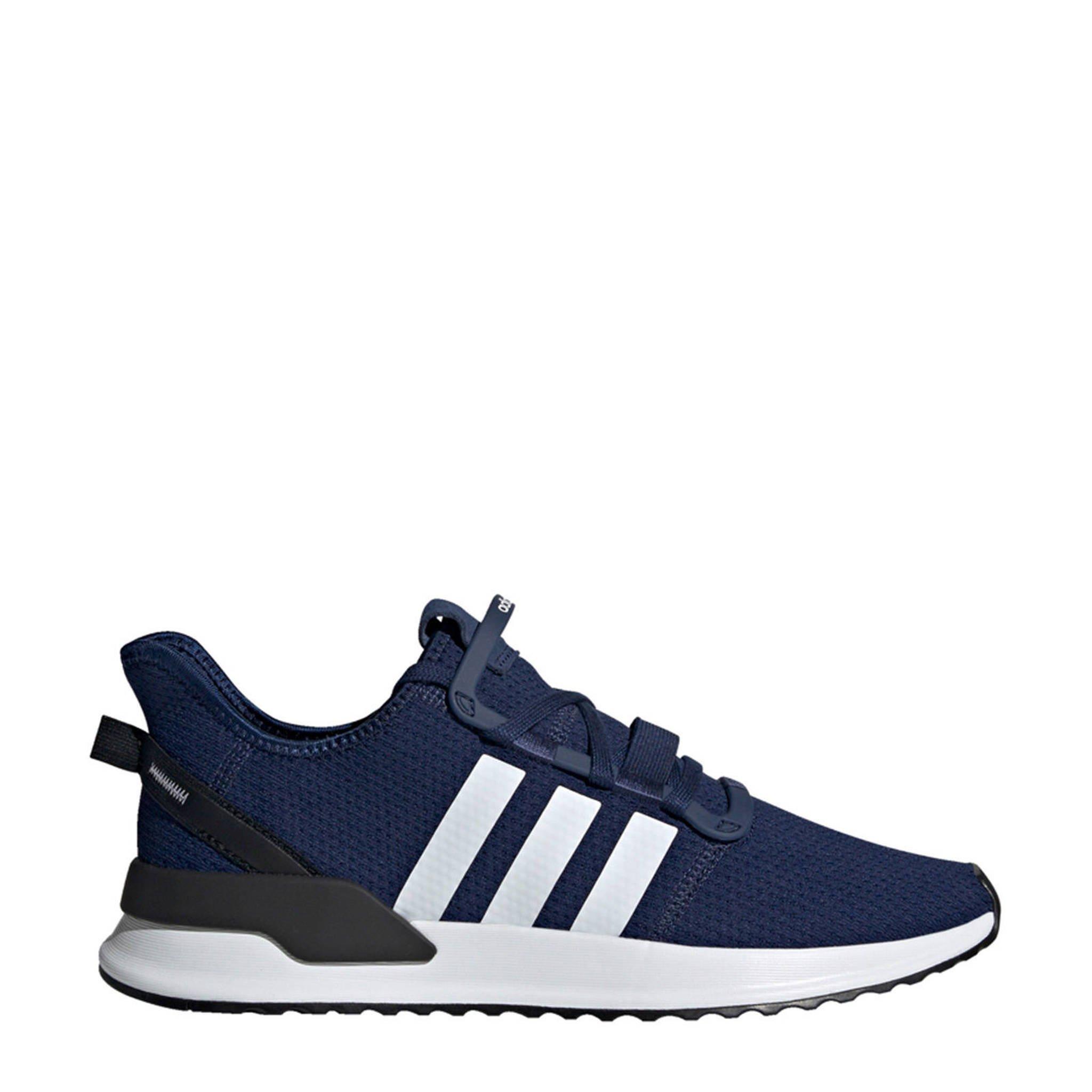 ed4ce808648 adidas originals U_Path Run sneakers donkerblauw | wehkamp
