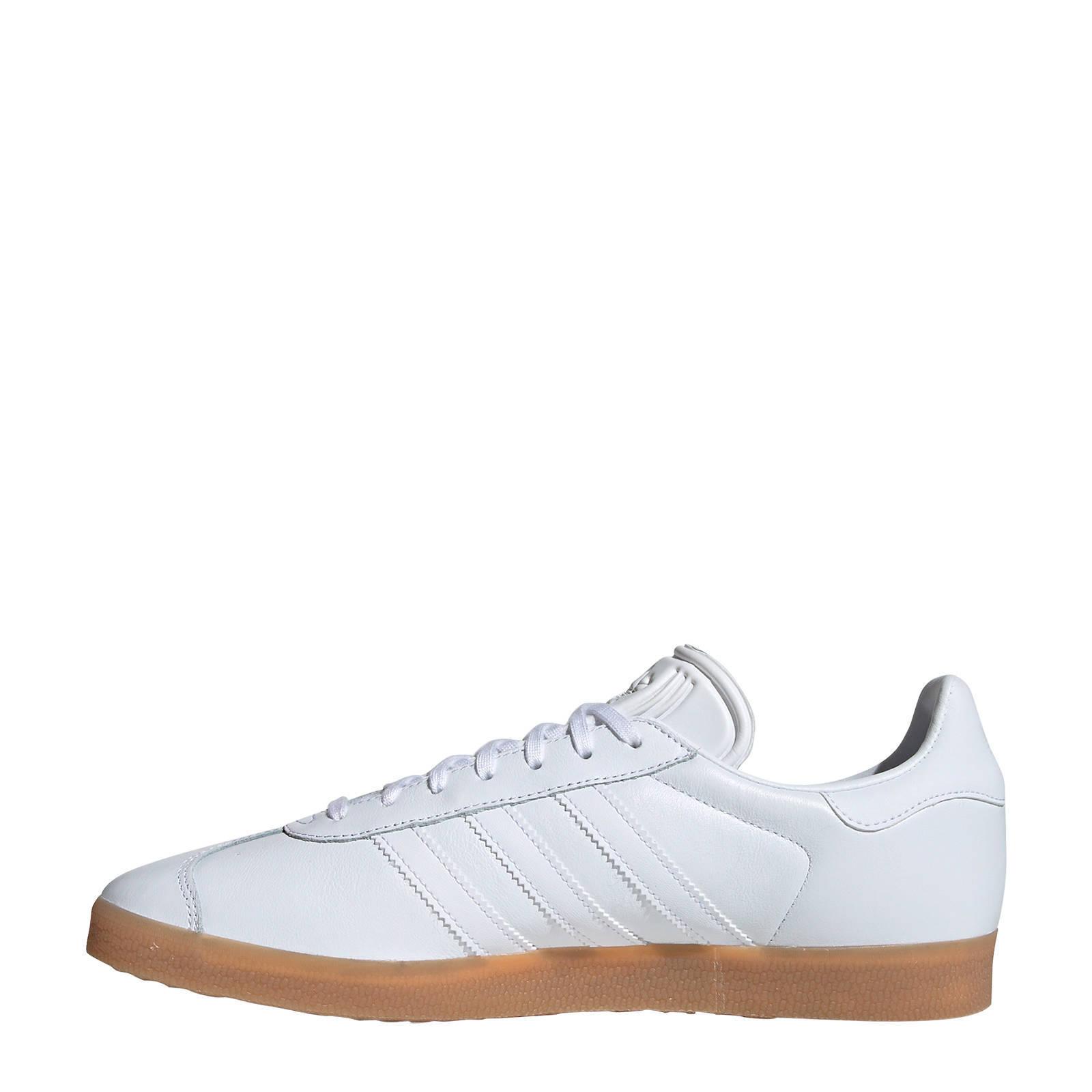 Gazelle sneakers wit