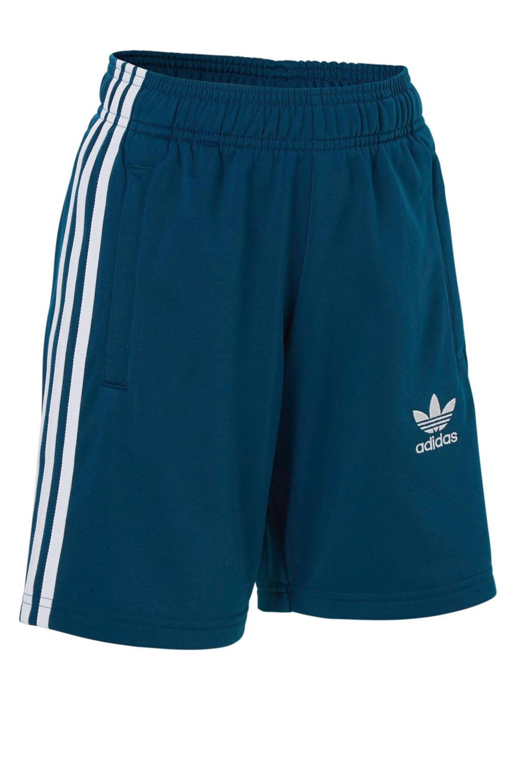 adidas originals   short, Blauw/wit