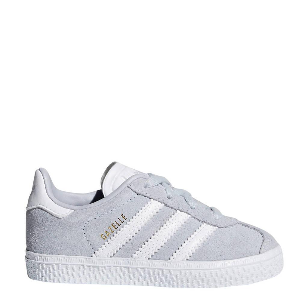adidas originals Gazelle I sneakers lichtblauw, Lichtblauw/wit